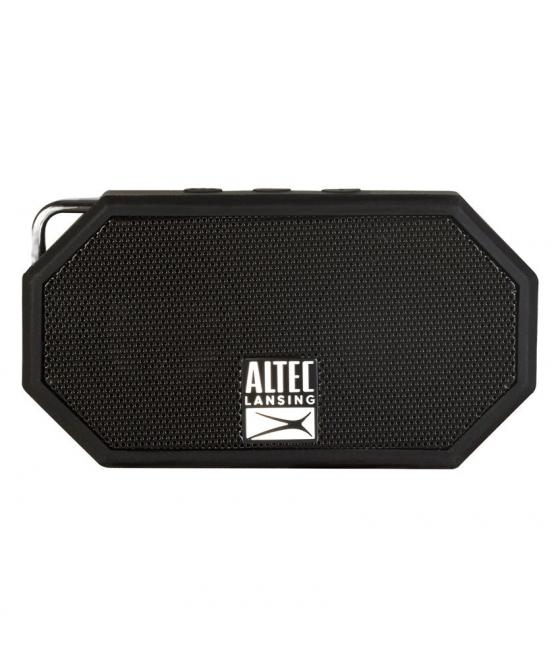 Altec Lansing Mini H2O IMW257-BLK Wireless Bluetooth Waterproof Speaker, Floats on Water, Ultra-Portable