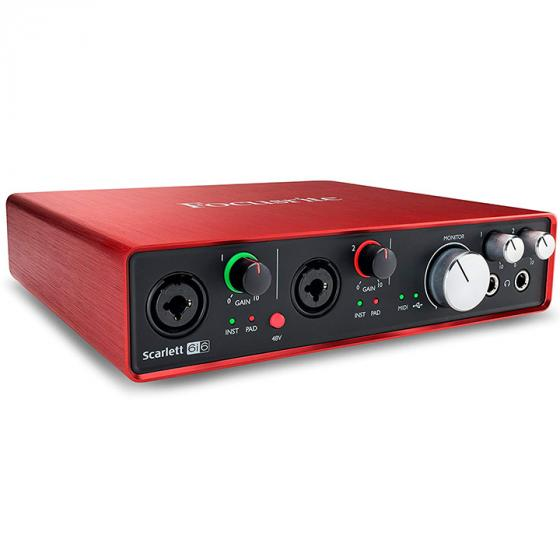 Focusrite Scarlett 6i6 (2nd Gen) USB 2.0 Audio Interface