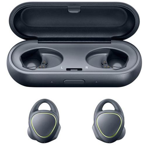 Samsung Gear IconX 2016 Cordfree Fitness Earbuds with Activity Tracker - Black
