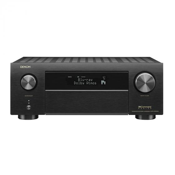 Denon AVR-X4400H 9.2 Channel Full 4K Ultra HD Network AV Receiver with HEOS, Black