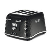 Delonghi Brillante Faceted 4-Slice Toaster