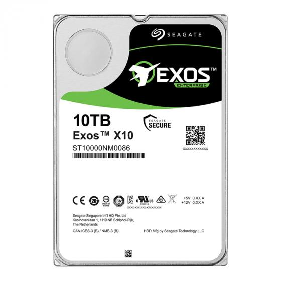 Seagate Exos X10 10TB Internal Hard Drive HDD