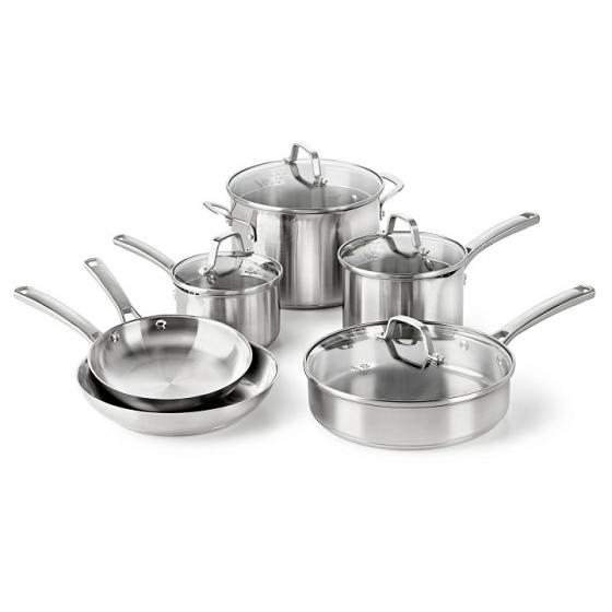 Calphalon Classic 1891242 Stainless Steel Cookware Set