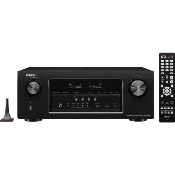 Denon AVR-S910W 7.2-Channel Full 4K Ultra HD A/V Receiver with Bluetooth and Wi-Fi
