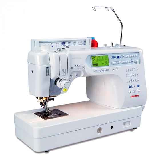 Janome Memory Craft 6600P Professional Computerized Sewing Machine