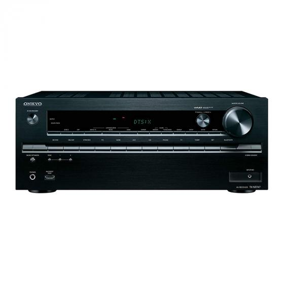 Onkyo TX-NR747 175-Watt 7.2-Channel Network A/V Receiver with Wi-Fi & Bluetooth (Black)