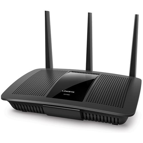Linksys AC1900 (EA7500) Dual Band Wireless Router, Works with Amazon Alexa
