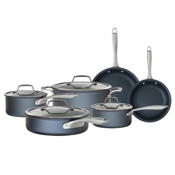 Kirkland Signature 15 Piece Hard Anodized Aluminum Cookware Set
