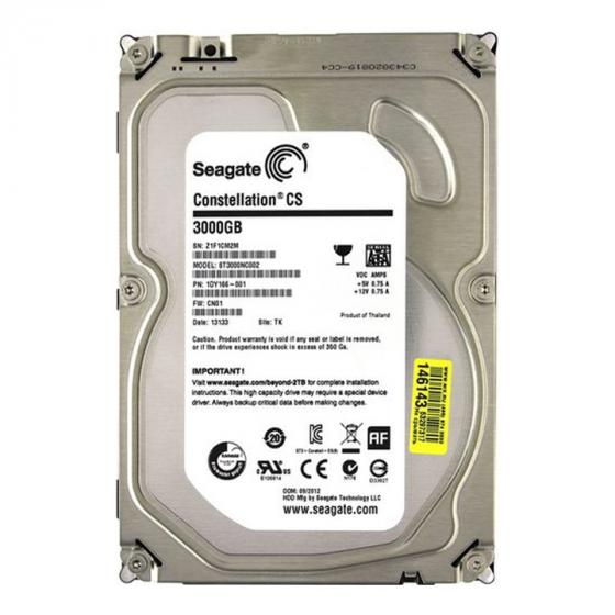 Seagate Constellation CS 3TB 7200RPM 64MB Cache 3.5