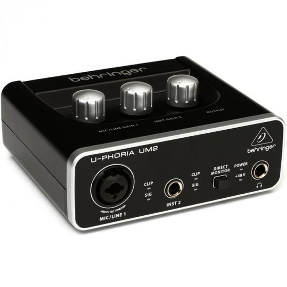 Behringer U-Phoria UM-2 Audio Interface