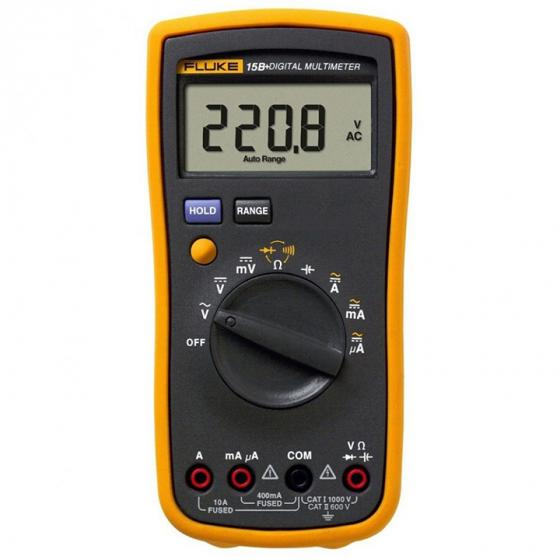 Fluke 15B+ Auto Range Digital Probe Multimeter