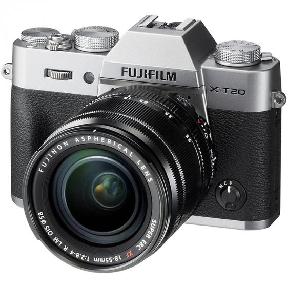 Fujifilm X-T20 Mirrorless Digital Camera w/XF18-55mmF2.8-4.0 R LM OIS Lens