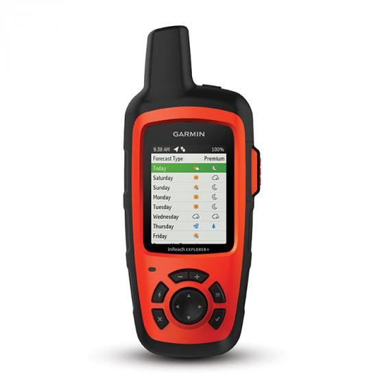 Garmin InReach Explorer+ Handheld Satellite Communicator with TOPO Maps and GPS Navigation