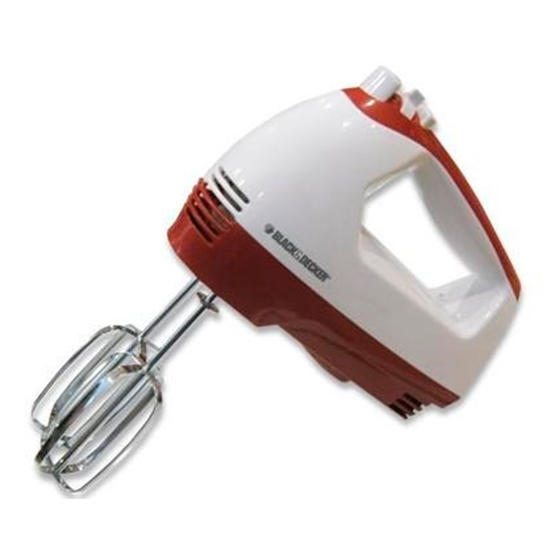 Black & Decker MX151