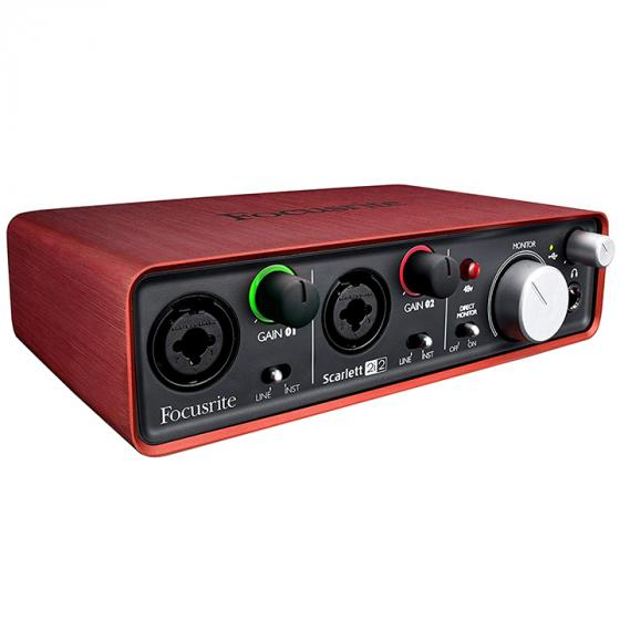 Focusrite Scarlett 2i2 (1st Gen) USB Recording Audio Interface