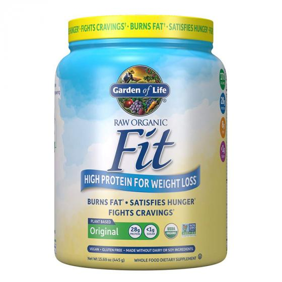 Garden of Life Raw Organic Fit Powder, Original - High Protein for Weight Loss