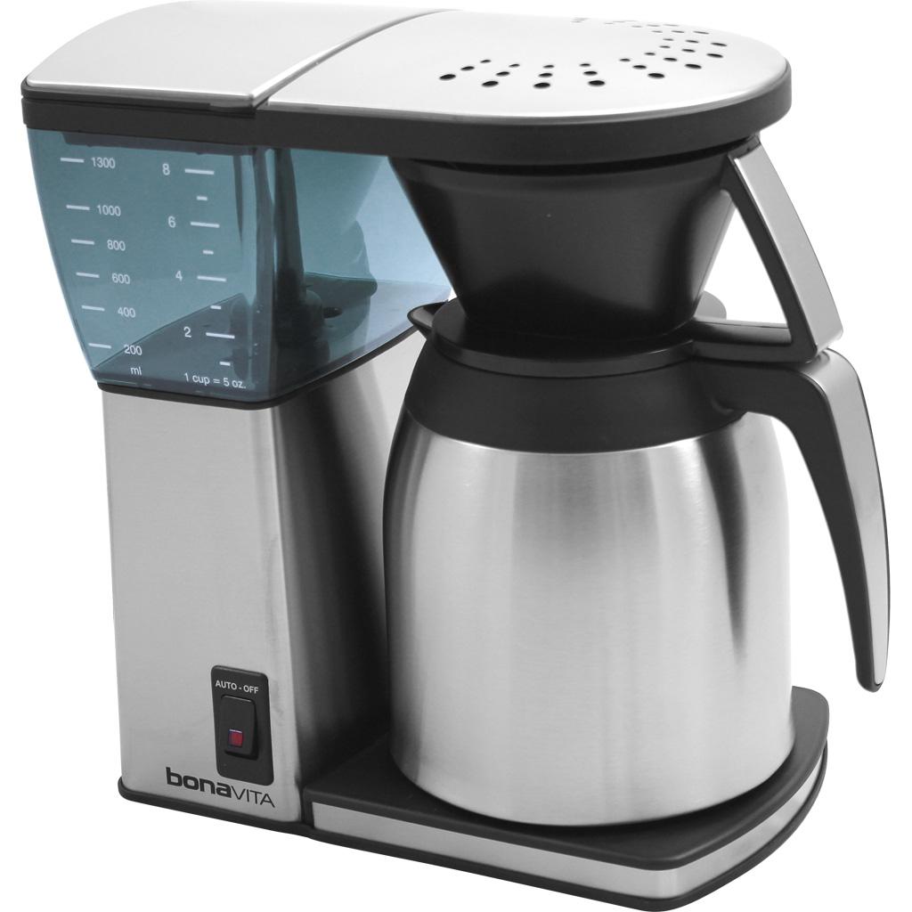Bonavita Coffee Maker Dimensions : Bonavita BV1800 - Reviews, Prices, Specs - www.bestadvisor.com