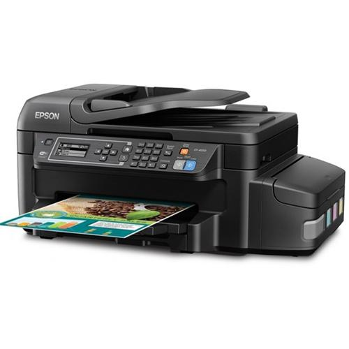 Epson ET-4550 EcoTank Wireless Color All-in-One Supertank Printer with Scanner, Copier, Fax, Ethernet, Wi-Fi, Wi-Fi Direct