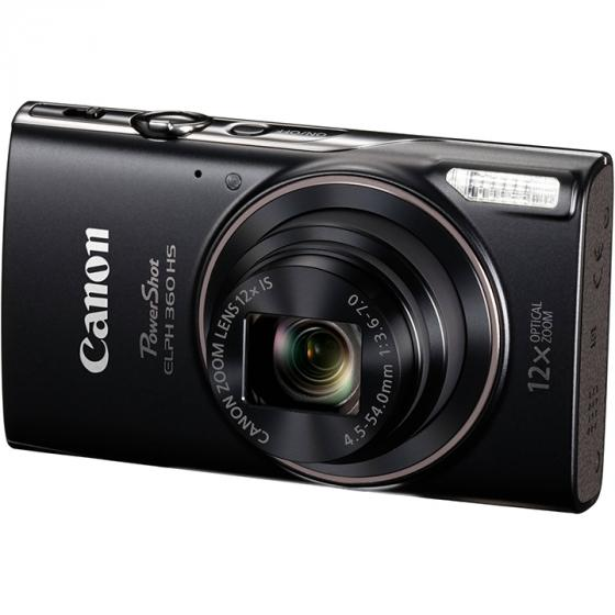 Canon PowerShot ELPH 360 with 12x Optical Zoom and Built-In Wi-Fi with Deluxe Starter Kit