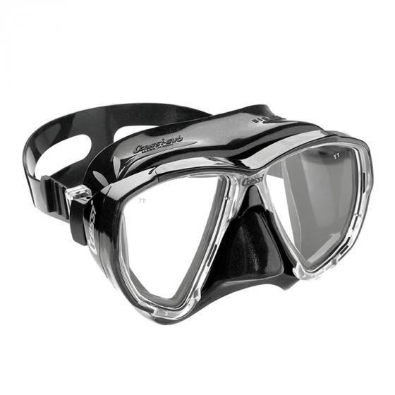 Cressi Big Eyes Adult Dive Mask with Inclined Lens for Scuba Diving