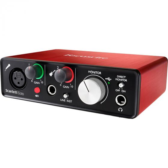 Focusrite Scarlett Solo Audio Interface with Pro Tools