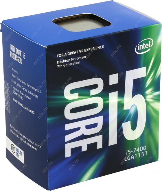 Intel i5-7400 7th Gen Core Desktop Processor
