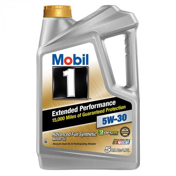 Mobil 1 Extended Performance 5W-30 Advanced full synthetic formula
