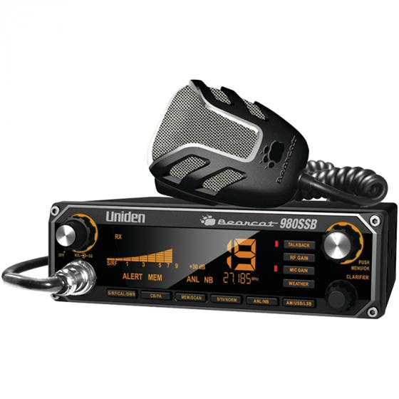 Uniden Bearcat 980SSB 40- Channel SSB CB Radio