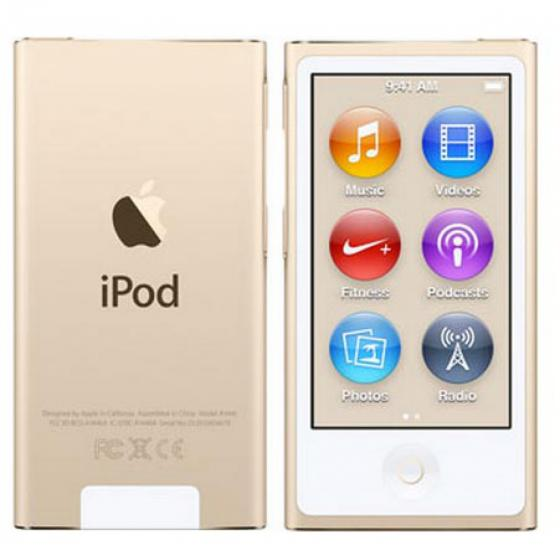 Apple iPod Nano (8th Generation) 16GB Gold MKMX2LL/A