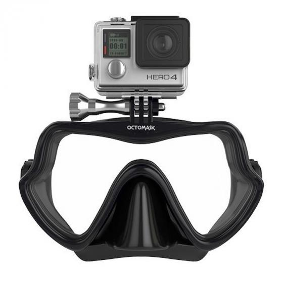 OCTOMASK Frameless Dive Mask Compatible with Gopro for Scuba Diving and Snorkeling