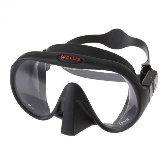 Hollis M1 Frameless Scuba Diving Freediving/Spearfishing Dive Mask