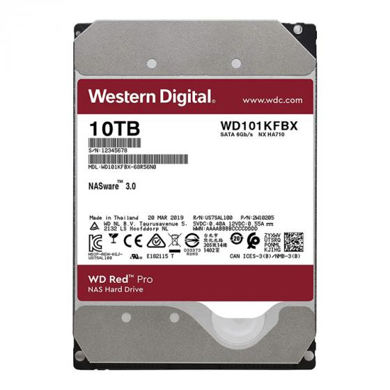 Western Digital Red Pro 10TB NAS Internal Hard Drive