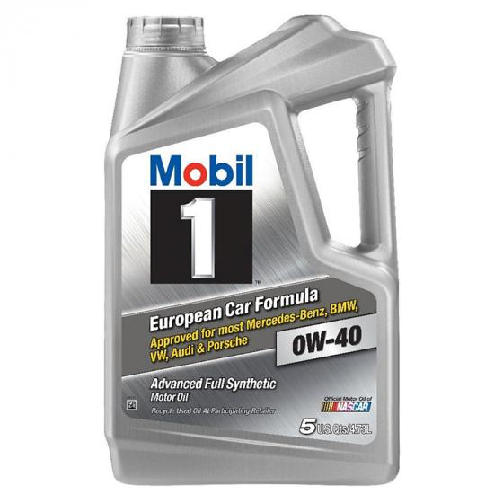 Mobil 1 0W-40 Advanced Full Synthetic Motor Oil