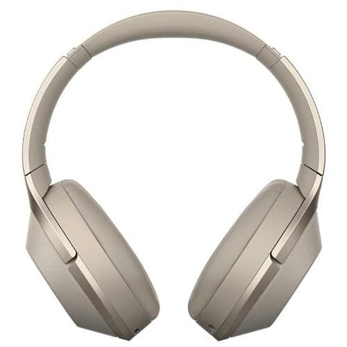 Sony WH-1000XM2 Over Ear Wireless Bluetooth Headphones with Case - Gold
