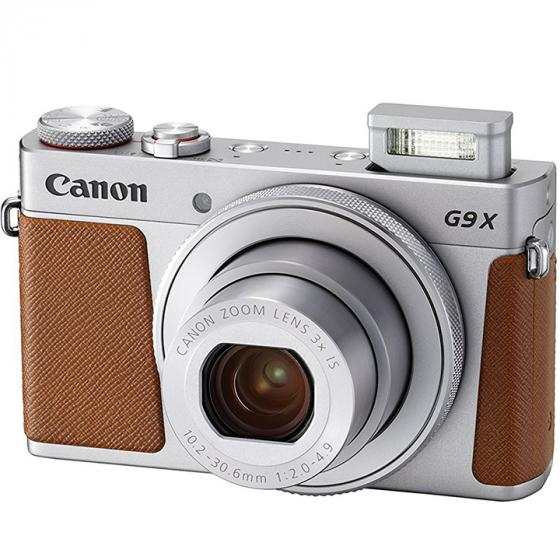Canon PowerShot G9 X Digital Camera with 3x Optical Zoom (Silver)