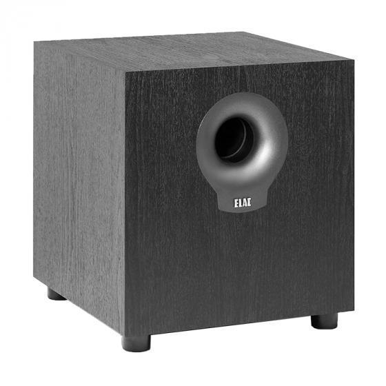Elac Debut DS10.2 200 Watt Powered Subwoofer, Black