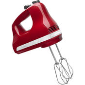 KitchenAid KHM512 5-Speed Ultra Power Hand Mixer, Empire Red