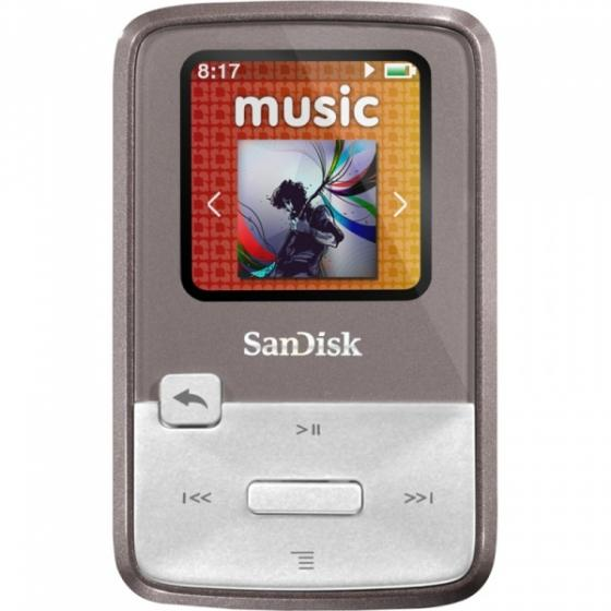 SanDisk Sansa Clip Zip 4GB Purple (Digital Media Players)
