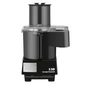 Waring WFP14SC Batch Bowl and Continuous Food Processor with LiquiLock Seal System, 3-1/2-Quart