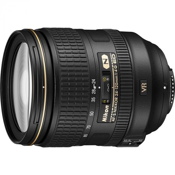 Nikon AF-S FX 24-120mm f/4G ED Vibration Reduction Zoom Lens with Auto Focus for Nikon DSLR