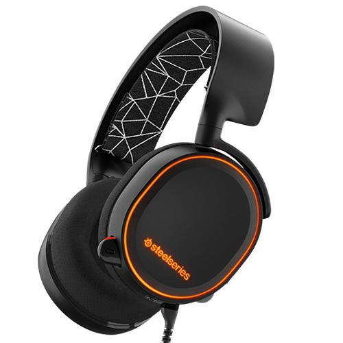 SteelSeries Arctis 5 RGB Illuminated Gaming Headset with DTS Headphone