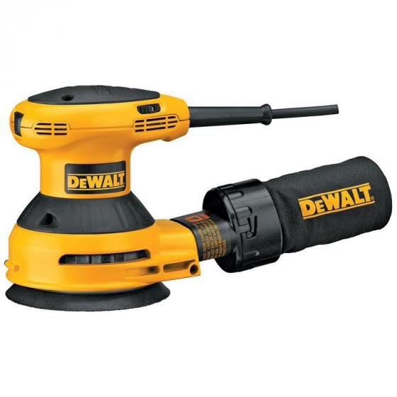 DEWALT D26453K Random Orbit Sander Kit with Cloth Dust Bag