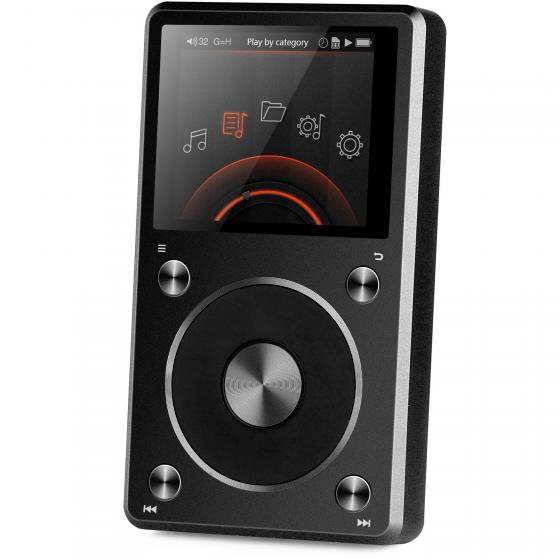 Fiio X5-II (2nd Generation) High Resolution Music Player (Black)
