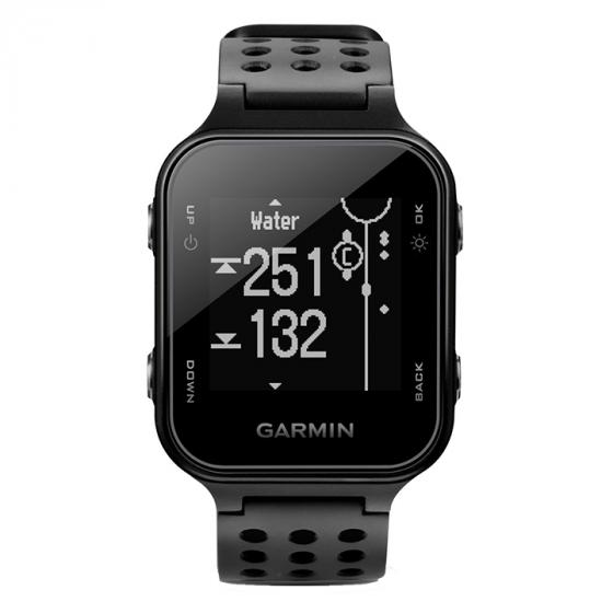 Garmin Approach S20 GPS Golf Watch with Step Tracking, Preloaded Courses, Midnight Teal