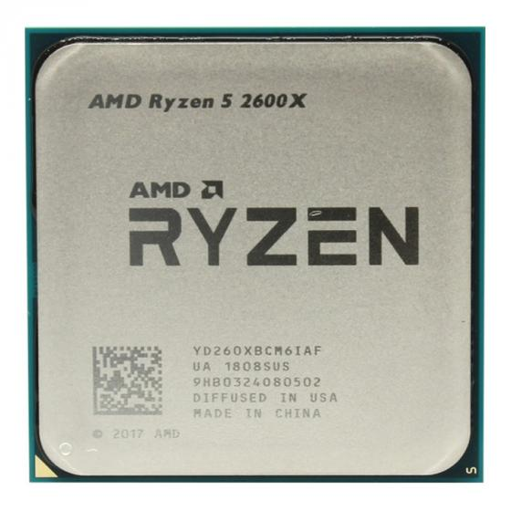 AMD Ryzen 5 2600X Desktop Processor with Wraith Spire Cooler