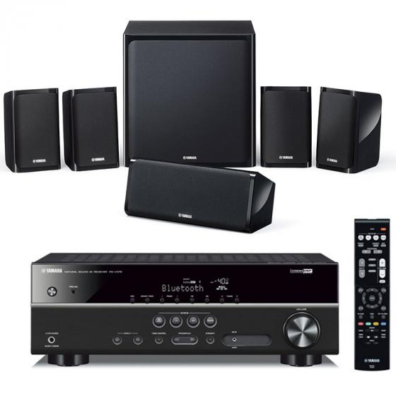 Yamaha YHT-4920UBL Home Theater in a Box System with Bluetooth