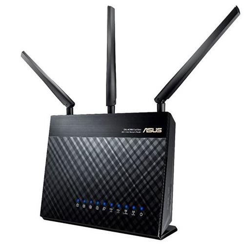 ASUS RT-AC68U AC1900 WiFi Dual-band 3x3 Gigabit Wireless Router with AiProtection Network Security