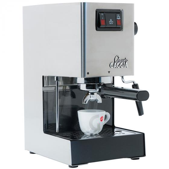 Gaggia Classic (14101) Classic Semi-Automatic Espresso Maker. Pannarello Wand for Latte and Cappuccino Frothing