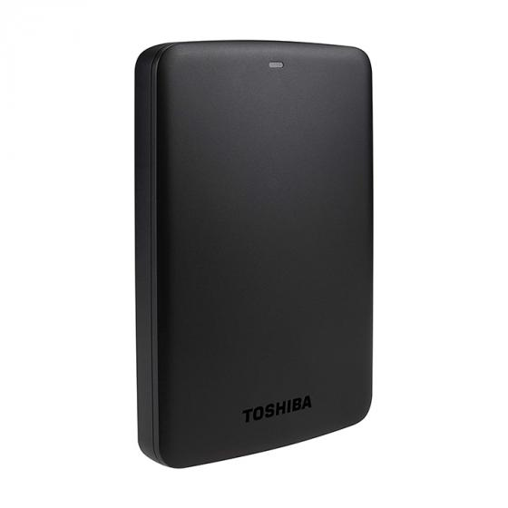 Toshiba Canvio Basics 1TB (HDTB310EK3AA) Portable External Hard Drive 2.5 Inch USB 3.0 - Black