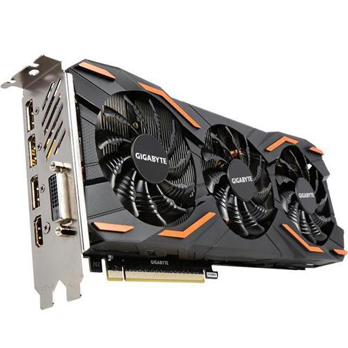 Gigabyte GeForce GTX 1080 Windforce OC Graphics Cards (GV-N1080WF3OC-8GD)